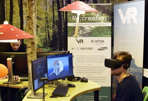 TallinnaTV Publishes News Story about Virtual Reality and Re:creation Lab